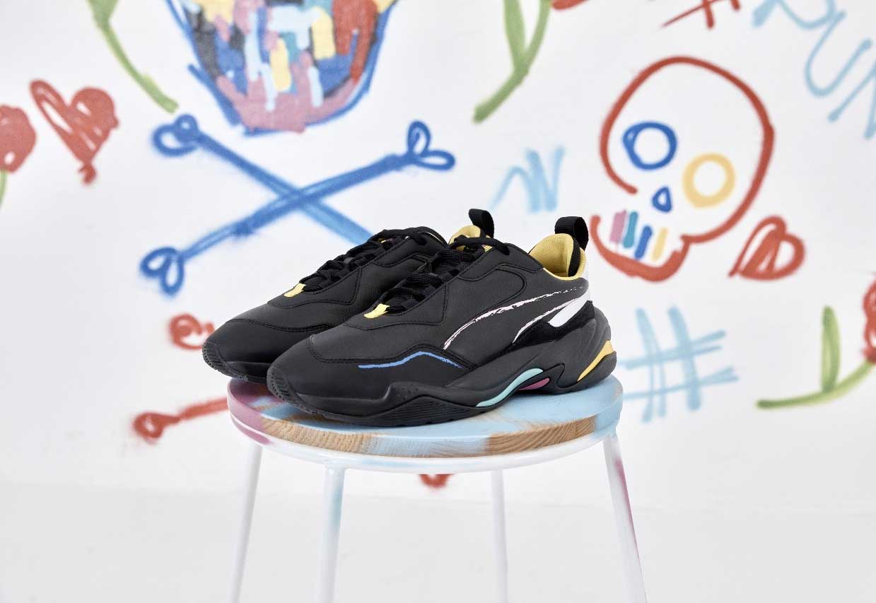 Bradley Theodore Unleashes A Street Art Inspired PUMA Thunder