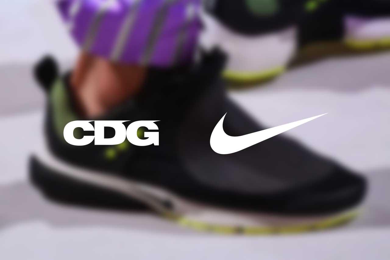 The COMME des GARÇONS x Nike Air Presto Gets An Official Release
