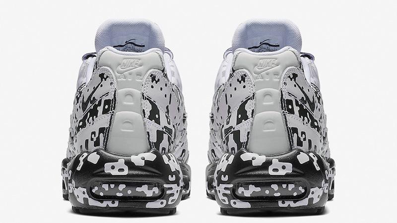 Cav Empt x Nike Air Max 95 White Black