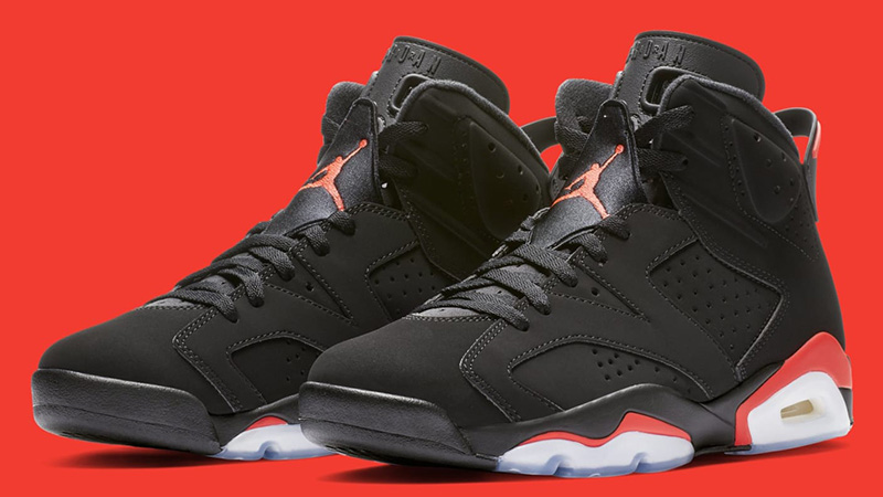 Jordans 6 Air Jordan 6 Infrared Retro - Where To Buy - 384664-060 | The Sole ...