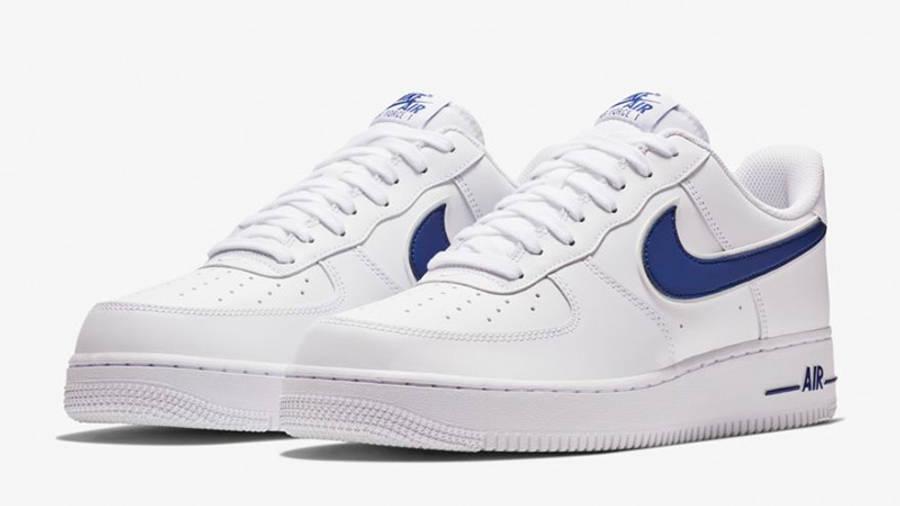 Nike Air Force 1 07 3 White Blue