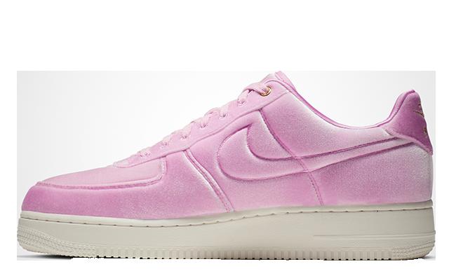 air force 1 velvet pink