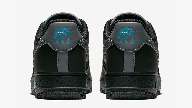 Nike Air Force 1 Low Black Blue