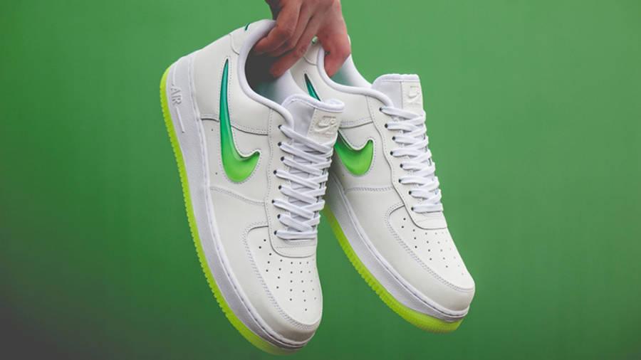 Nike Air Force 1 White Yellow | Where