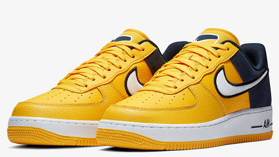 Nike Air Force 1 Yellow Navy | Where To