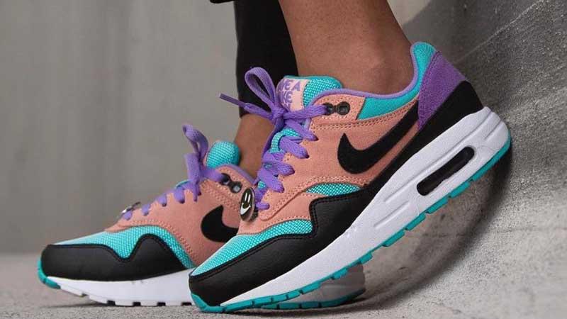 Nike Air Max 1 Have A Nike Day Purple Black | BQ8929 500
