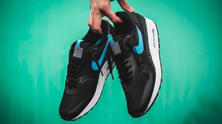 En segundo lugar reservorio Entre  Nike Air Max 1 SE Black Blue Fury | Where To Buy | CD1530-001 | The Sole  Supplier
