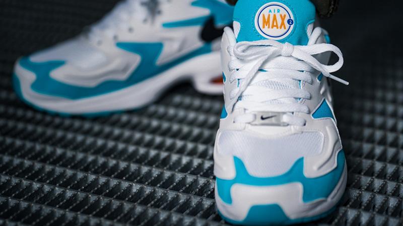 Nike Air Max 2 Light White Blue 06