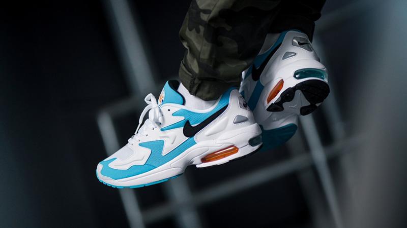 Nike Air Max 2 Light White Blue 07