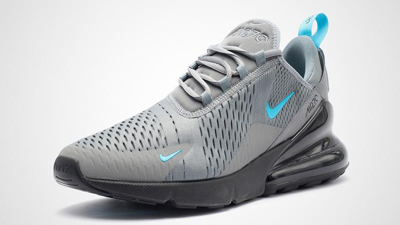 Nike Air Max 270 Grey Black Blue