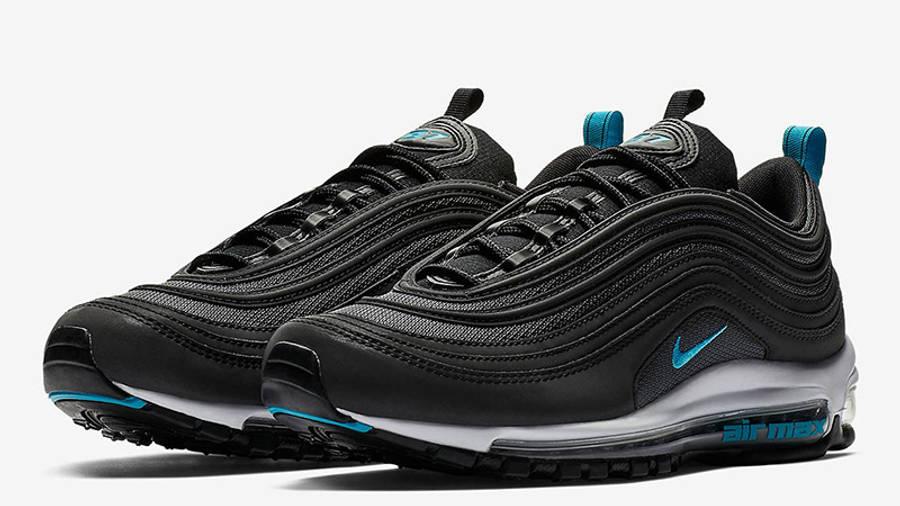 nike 97 blue and black
