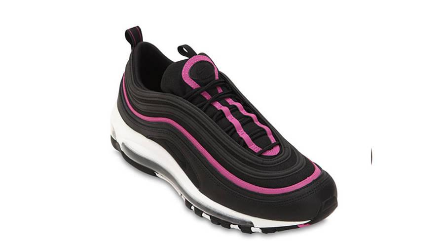black and pink 97 air max