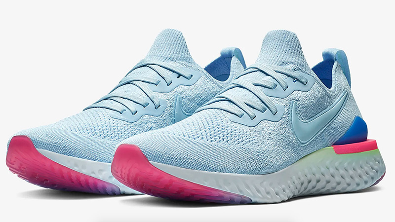 Nike Epic React Flyknit 2 Blue   Where