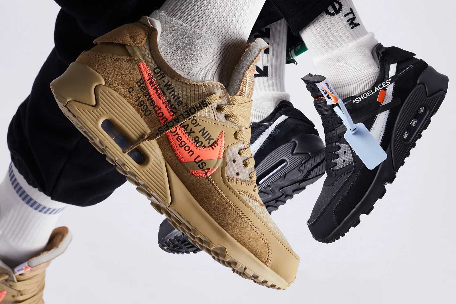 Off-White x Nike Air Max 90 Black And