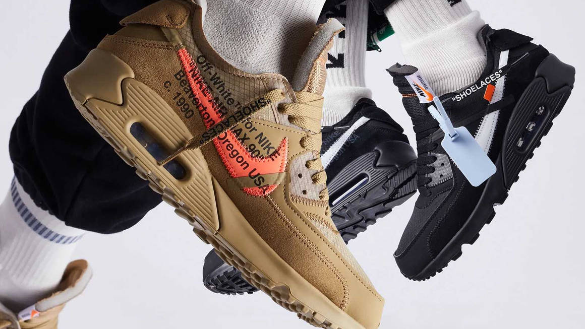 off white nike air max 90 black where to buy