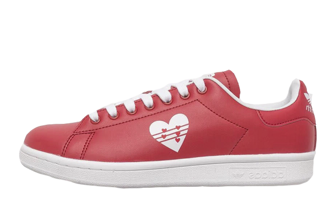 adidas Stan Smith Red White Valentines Day Pack Womens G28136