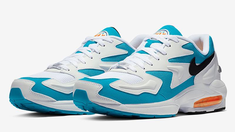Nike Air Max 2 Light White Blue