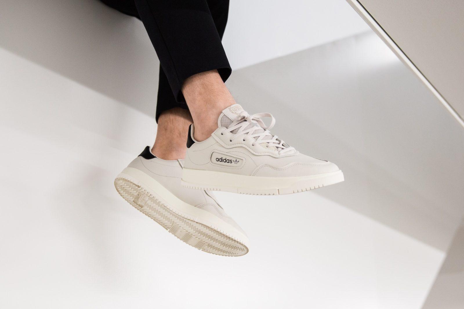 adidas Originals SC Premiere sneakers in white