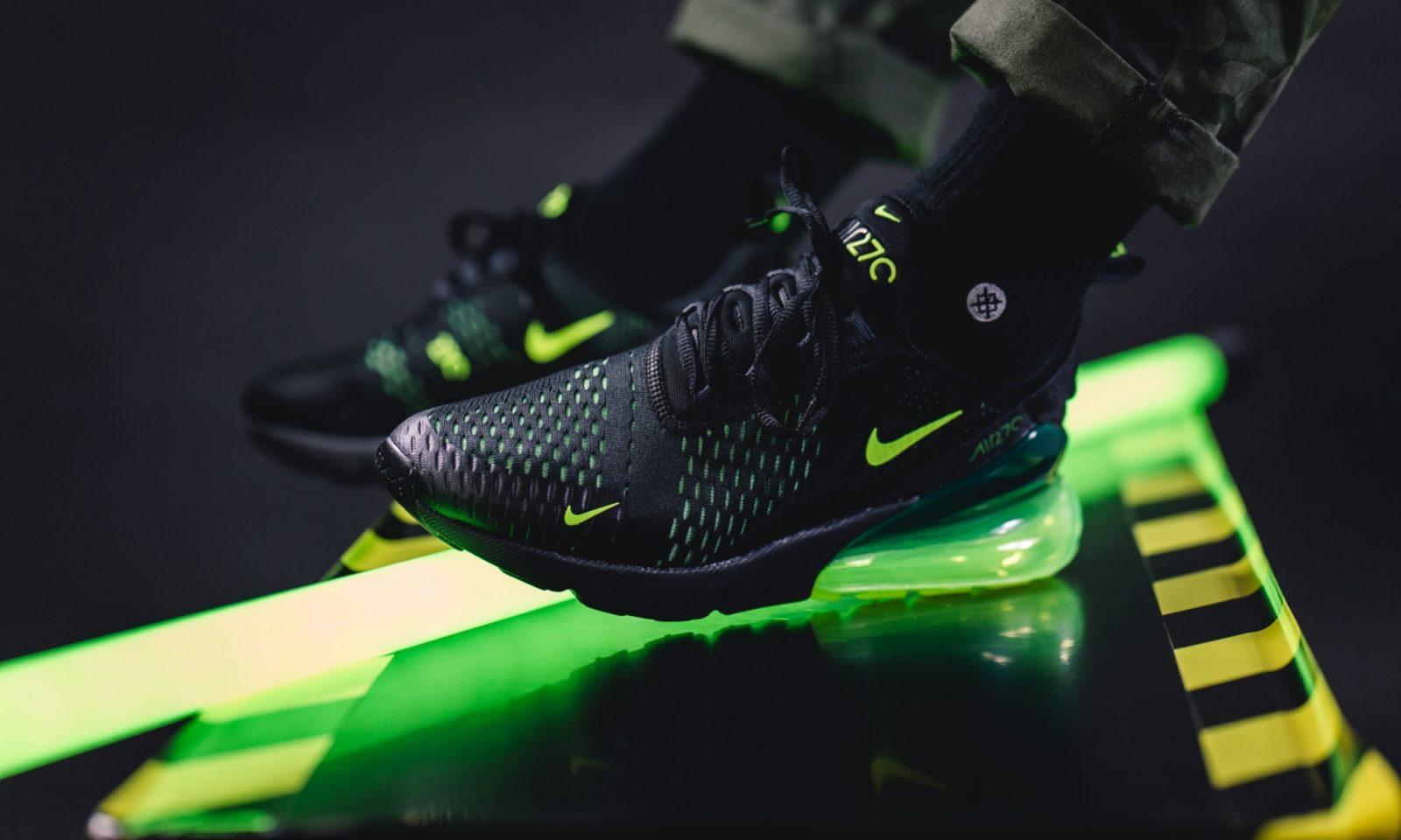 nike air max 270 schwarz neon green