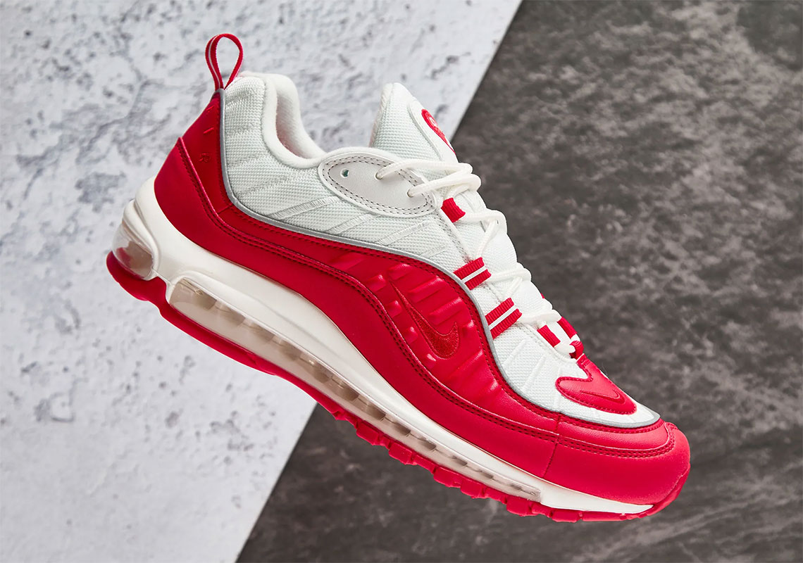 Supreme Vibes Feature On The Nike Air Max 98 'University Red'