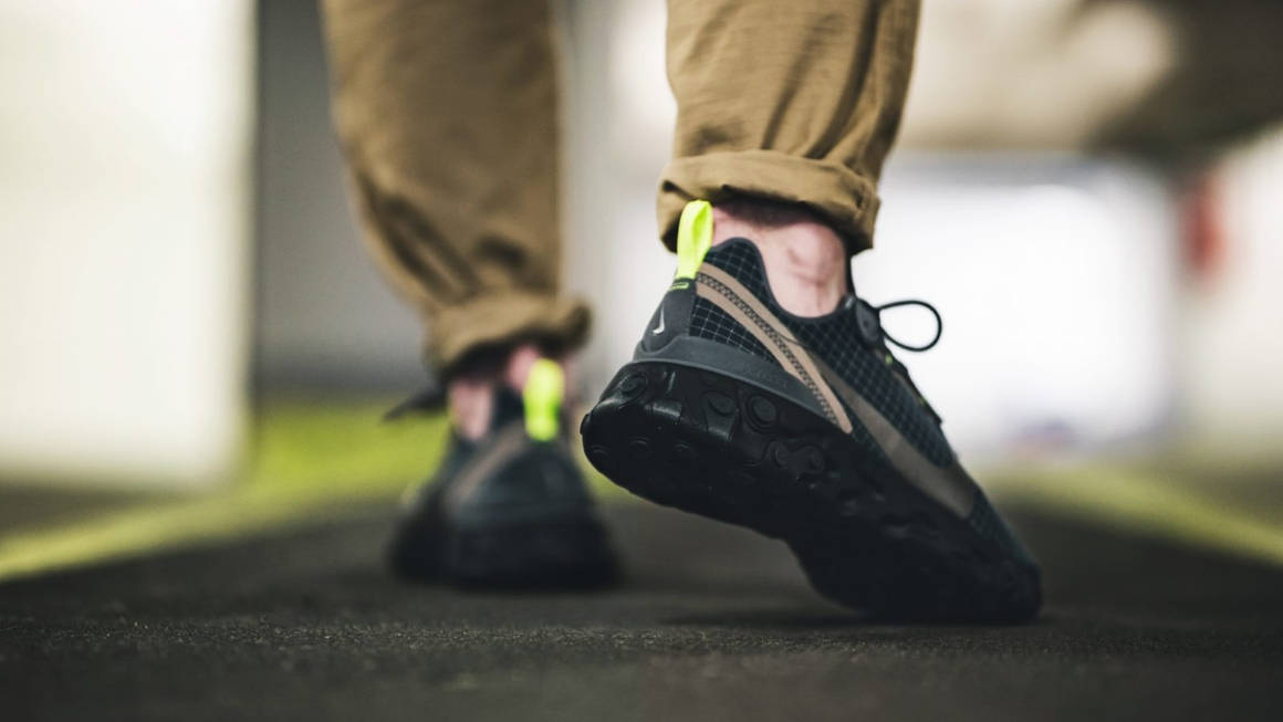 Nike React Element 55 'Green Grid