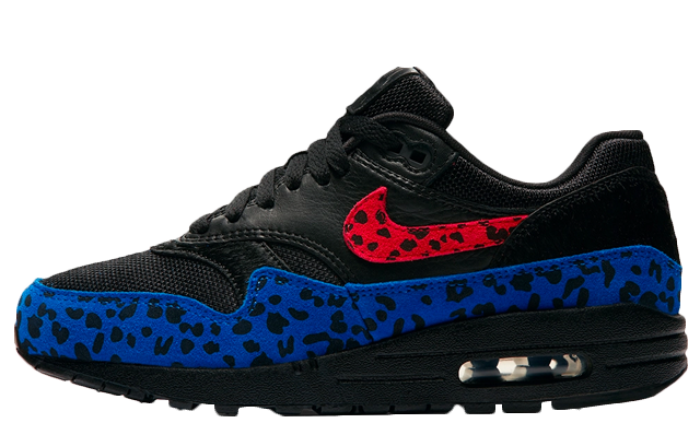 Nike Air Max 1 Black Leopard Women's | BV1977-001