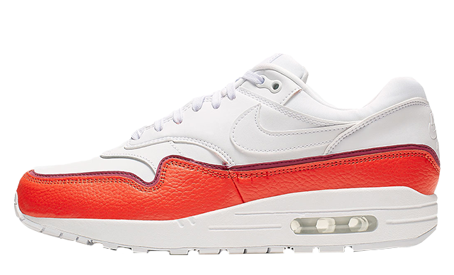 Nike Air Max 1 White Red | 881101-102