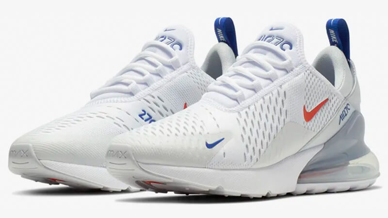 Nike Air Max 270 White Red Where To Buy Cd7338 100 The Sole