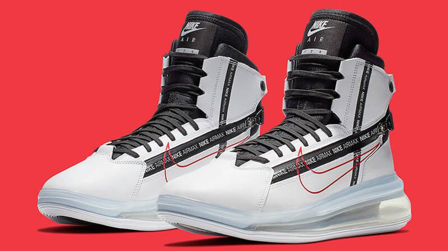 para mi tijeras gato  Nike Air Max 720 Saturn White Red | Where To Buy | AO2110-100 | The Sole  Supplier