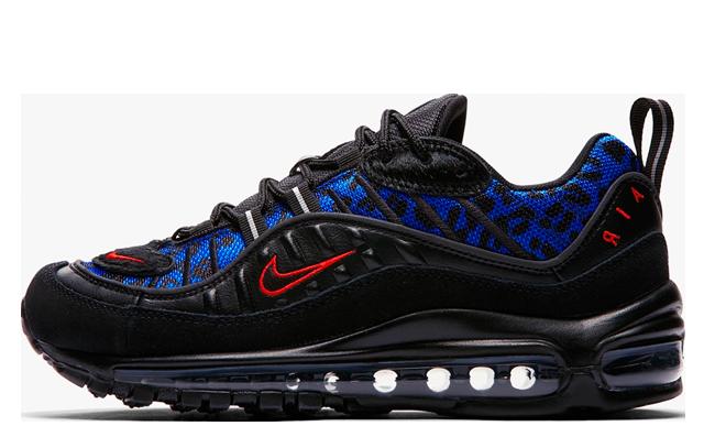 Nike Air Max 98 Black Leopard Women's | BV1978-001