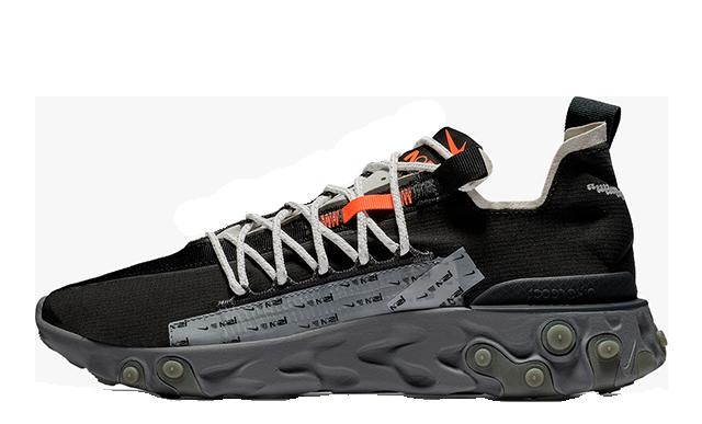 Nike React WR ISPA Black AR8555-001 05