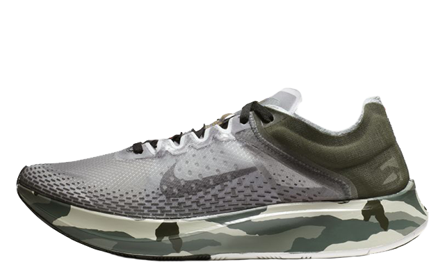Nike Zoom Fly SP Fast Sequoia Grey AT5242-300