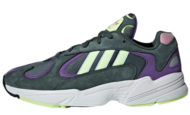 adidas Yung 1 Green Purple | BD7655