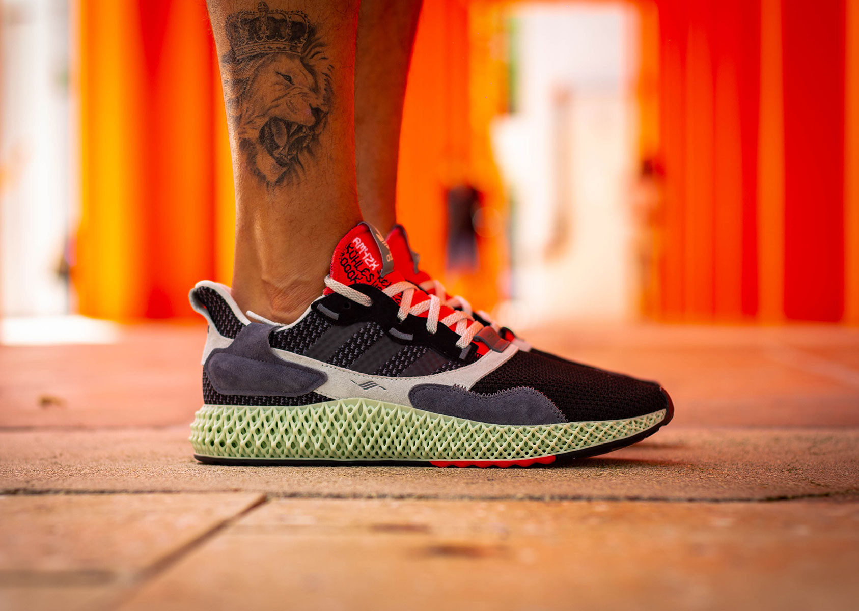 The adidas ZX 4000 4D 'Black Onix' Is