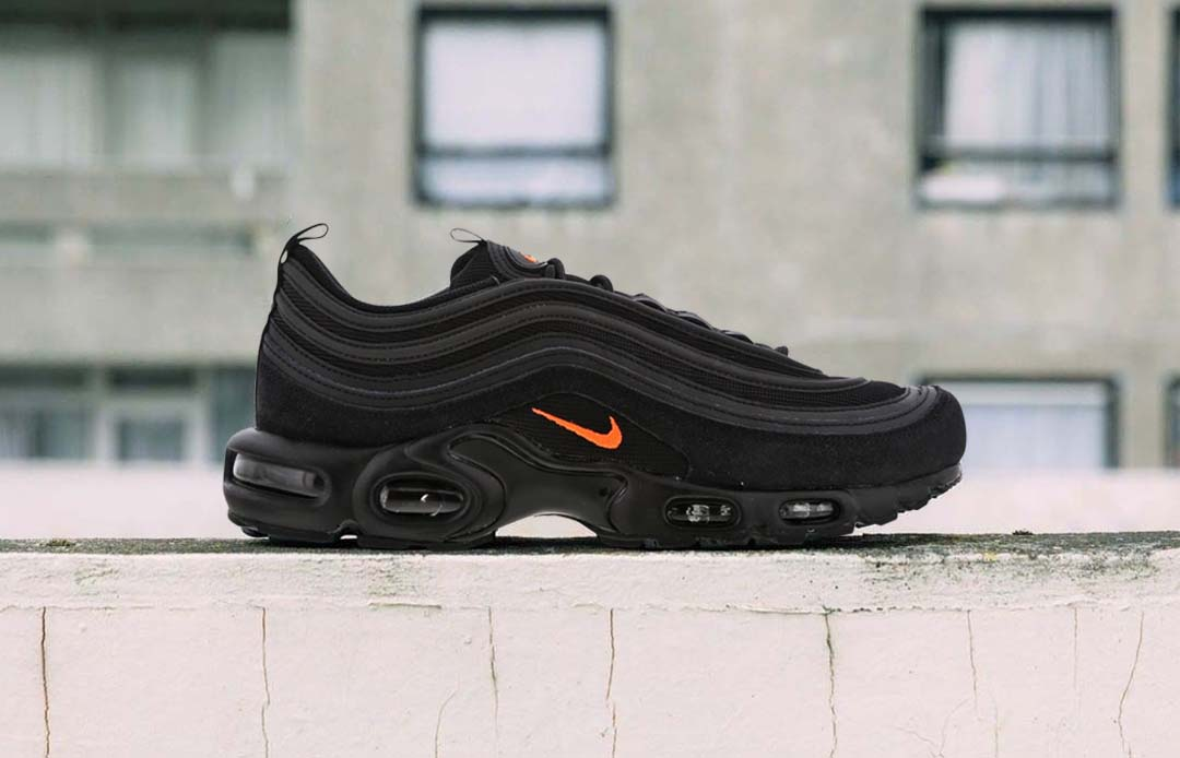 The Nike Air Max Plus 97 'Black/Hyper Crimson' Is The Only Hybrid ...