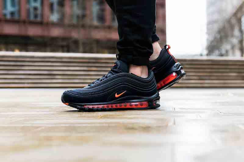 Nike Air Max 97 'Black/Hyper Crimson