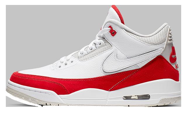 Jordan 3 Tinker White Red | CJ0939-100