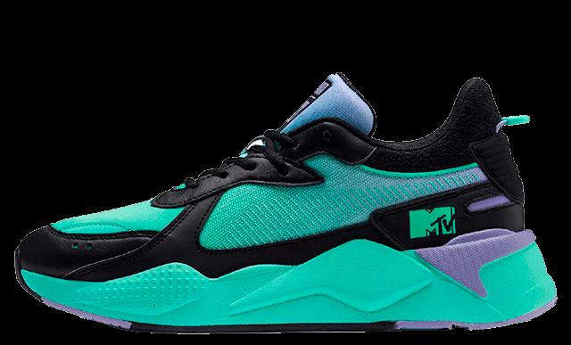 MTV x Puma RS-X Tracks Green Multi