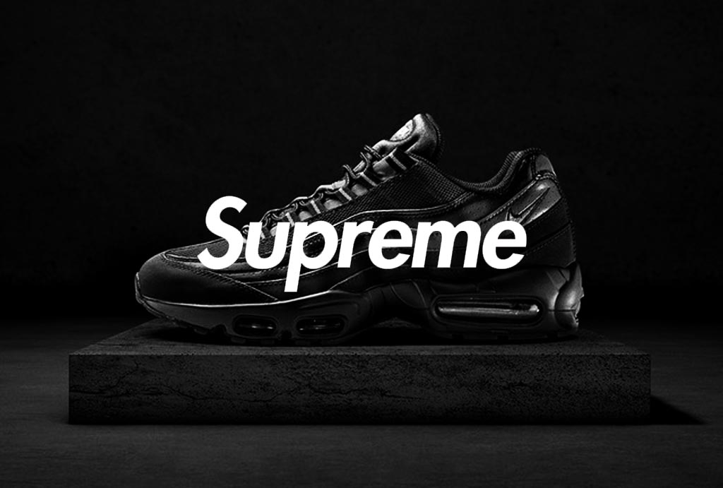 Supreme x Nike Air Max 95 Luxe Resale Pricing Info