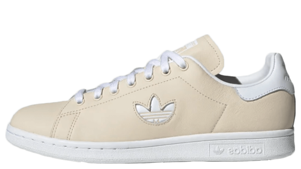 adidas Stan Smith Beige White Womens CG6794