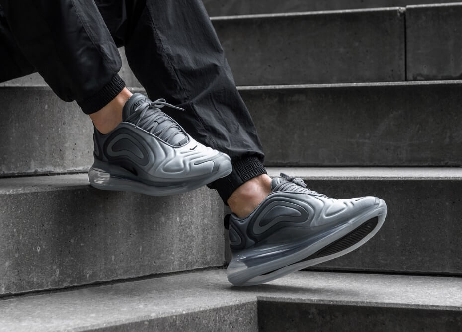 The Nike Air Max 720 'Carbon Grey' Is As Clean As It Gets
