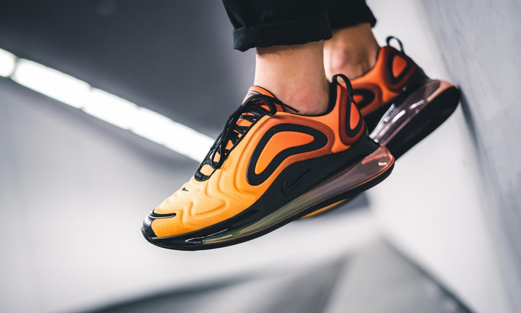 Start The New Season With The Nike Air Max 720 'Sunrise
