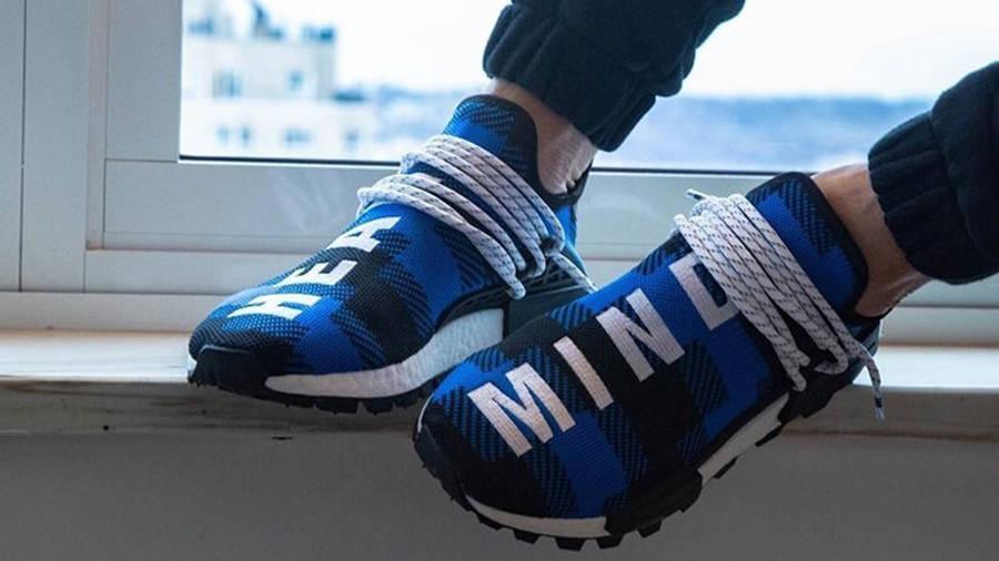 BBC x adidas NMD Hu Pharrell Blue Plaid