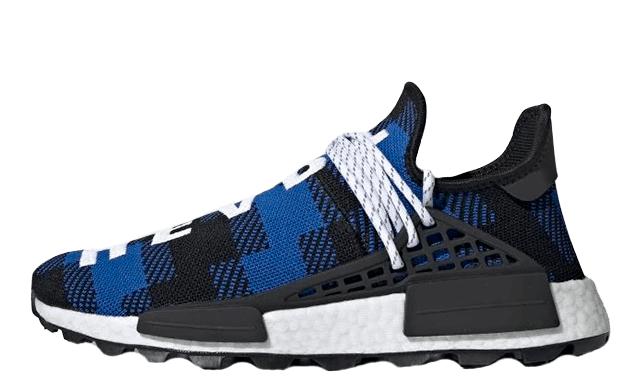 BBC x adidas NMD Hu Pharrell Blue Plaid EF7387