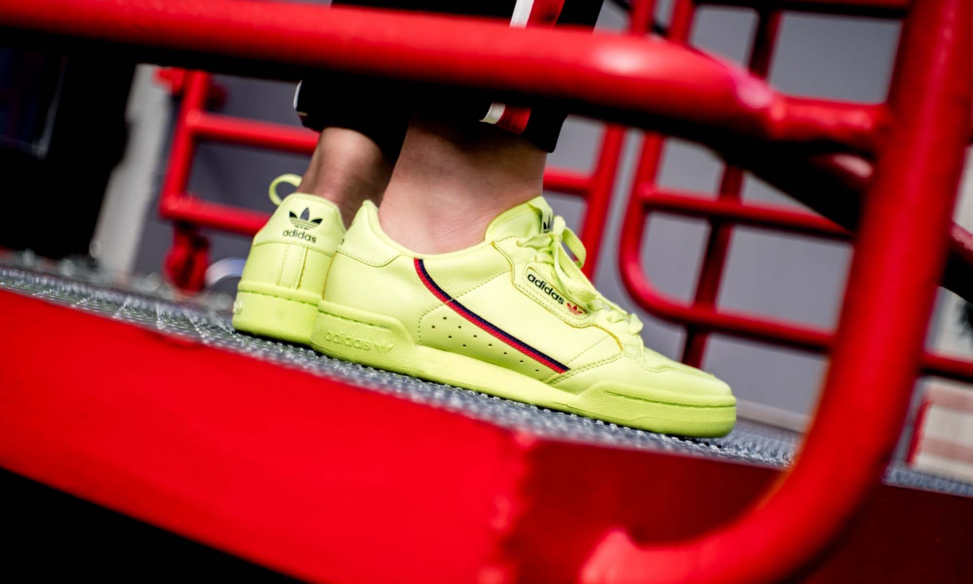 Gear Up For Summer With The adidas Continental 80 'Semi Frozen Yellow'