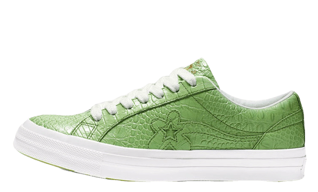 Converse One Star Ox x Golf Le Fleur Faux Skin Green 165525C