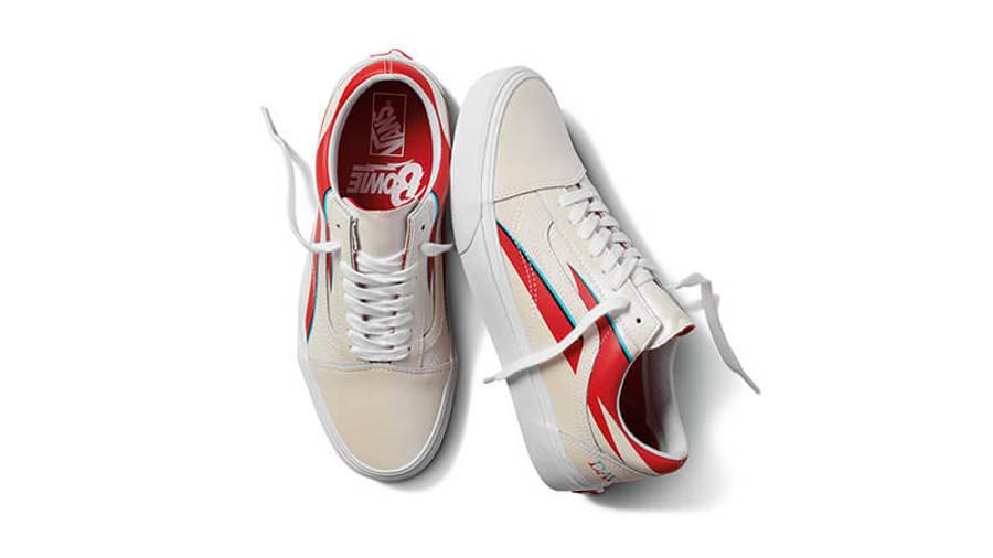 David Bowie x Vans Old Skool LX White