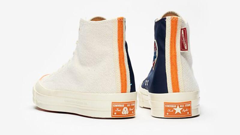 Footpatrol x Converse Chuck 70 Hi White Navy