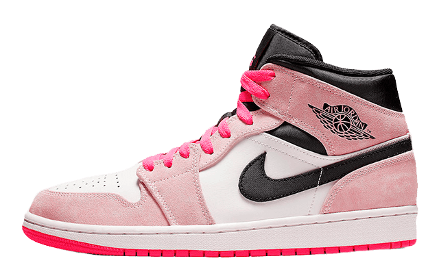 Jordan 1 Mid Hyper Pink Where To Buy 852542 801 The Sole