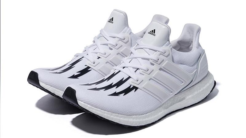 Neighborhood x adidas Ultra Boost White Black front